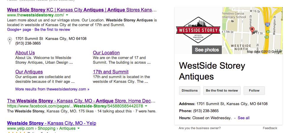 Google Plus Local Business Integration