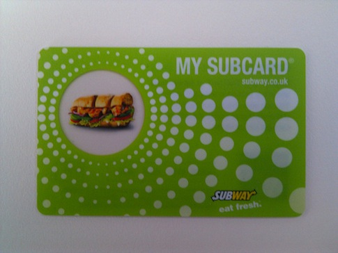 subway customer loyalty The article also noted that subway is hopeful that a new customer loyalty  program, menu changes and remodeling will help boost its business.