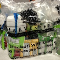 BackSnack kits at Harvesters
