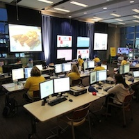 MLB All-Star Game Kansas City Social Media Command Center